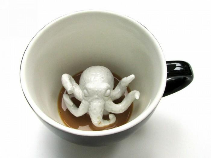 цена Посуда Creature Cups Кружка с Ктулху 330 мл