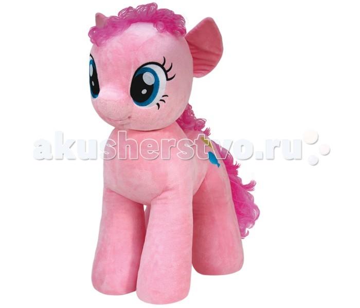 Мягкая игрушка My Little Pony Пони Pinkie Pie 76 смПони Pinkie Pie 76 смПони Pinkie Pie 76 см - очаровательная мягкая игрушка из новой коллекции My little Pony. С Pinkie Pie невозможно не подружиться: она красива, жизнерадостна и добра. Любительница вечеринок и праздников Пинки Пай — самая веселая и задорная из компании подружек «Мои маленькие пони». Пинки просто создана для того, чтобы дарить другим пони, единорогам и пегасам улыбки и смех. Ее беспокойный, заводной и очень позитивный характер не оставляет никого равнодушным.  Игрушка мягкая и приятная на ощупь, большие красивые глаза и знак отличия вышиты, грива выполнена из искусственных волос.  Пони Pinkie Pie 76 см станет не просто игрушкой, но и милым дополнением к декору любой детской комнаты.  Из чего сделана игрушка (состав): ткань, пластик, искусственный мех, синтепон. Высота игрушки: 76 см. Вес: 3.5 кг.<br>