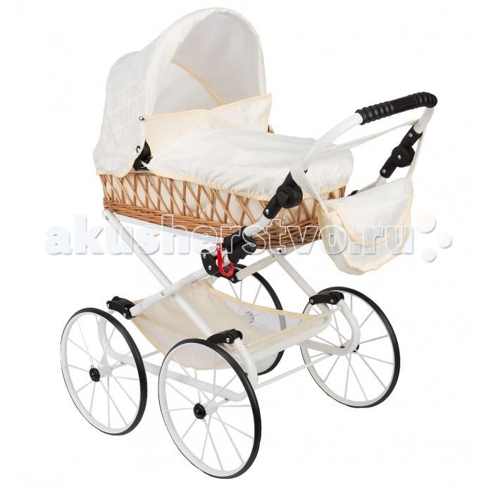 Коляска для куклы Wakart Моника РетроМоника РетроКоляска кукольная Wakart Моника Ретро - предназначена для девочек в возрасте 3 - 10 лет.  Выполнена в стиле настоящей коляски для малыша и является копией колясок польского производителя Wakart.  Это одна из самых больших колясок для кукол.  Ручка регулируется по высоте, что придает удобство ребенку при вождении коляски.  Выполнена из качественных материалов, абсолютно безопасных для детей.  Такая коляска привлечет внимание вашего ребенка и станет отличным подарком для любой девочки.  Вес: 6.5 кг.  Внимание! Расцветки коляски могут отличаться от представленных на фото.<br>