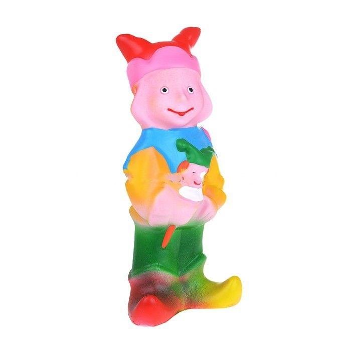 Игрушки для ванны Воронежская игрушка Игрушка для ванны Скоморох 15 см игрушки для ванны умка заводная игрушка
