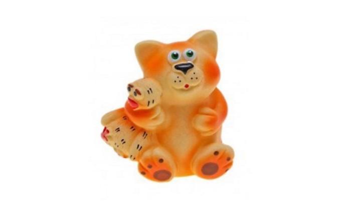 Игрушки для ванны Воронежская игрушка Игрушка для ванны Кот и гусь 11 см игрушка