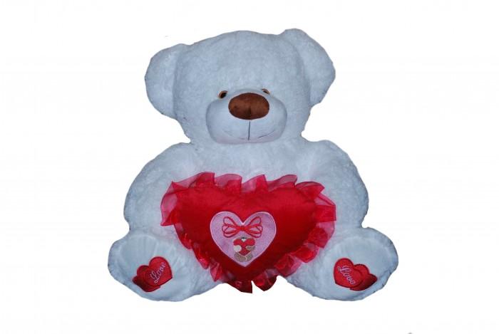 Мягкие игрушки Rudnix Медведь с сердцем 55 см мягкая игрушка plush apple медведь мишуткин с сердцем 30 см