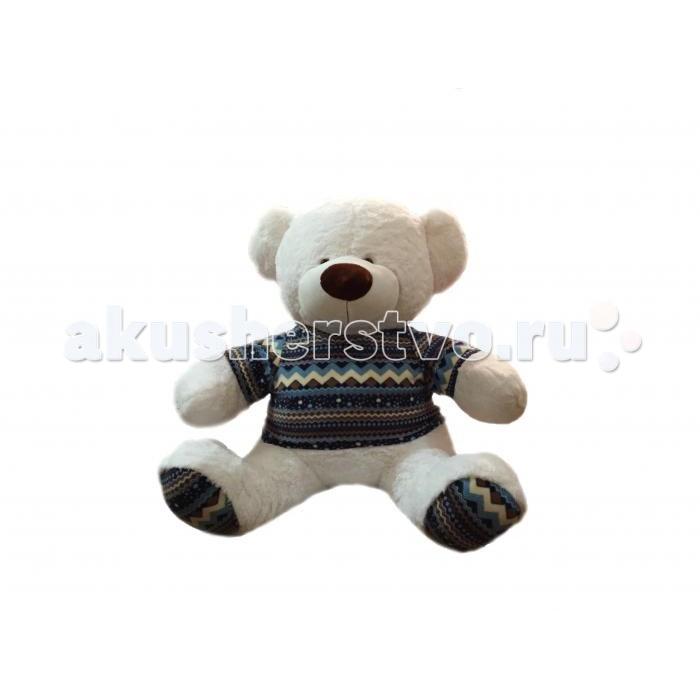 Мягкая игрушка Rudnix Медведь 90 смМедведь 90 смБольшая мягкая игрушка Медведь в кофте, представленный брендом Рудникс, подарит множество радостных моментов каждому ребенку. Малыш сможет дать ему имя по своему вкусу и проводить с ним время целыми днями.  Благодаря большим размерам на таком мишке ребенок сможет даже спать или же просто обнимать его, когда становится грустно, сразу же чувствуя тепло и любовь, исходящие от этого очаровательного медведя.<br>
