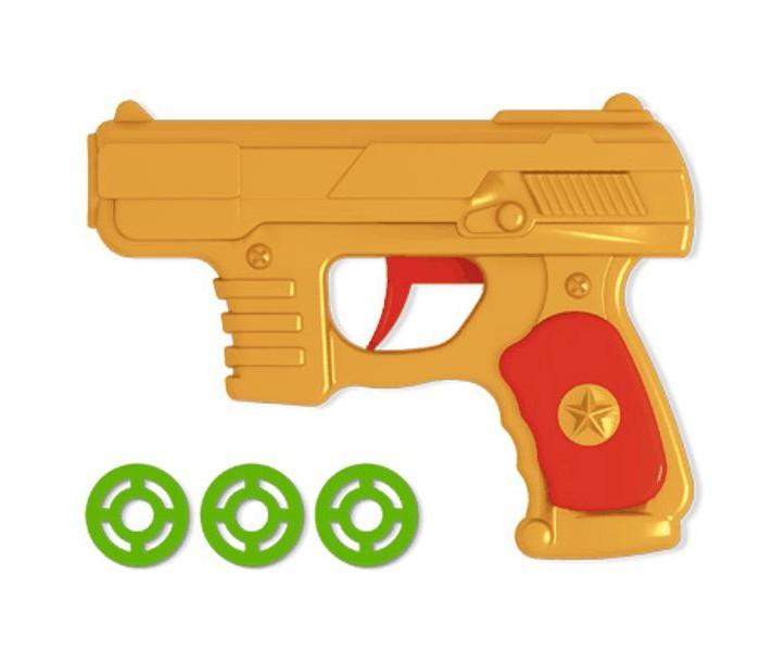 Игрушечное оружие Стеллар Пистолетик дисковый игрушечный в пакете игрушечное оружие yako игрушечное оружие 2 в 1 y4640125