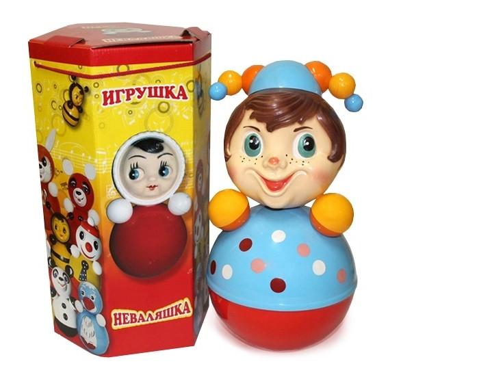 Развивающие игрушки Russia Неваляшка Скоморох 41 см russia неваляшка зайчик 22 5 см
