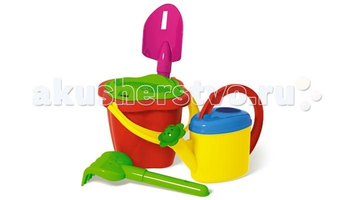 Игрушки в песочницу Стеллар Песочный набор № 125 песочный набор технок 6 ведро мельница формочки лопата грабли сито в асс те 113