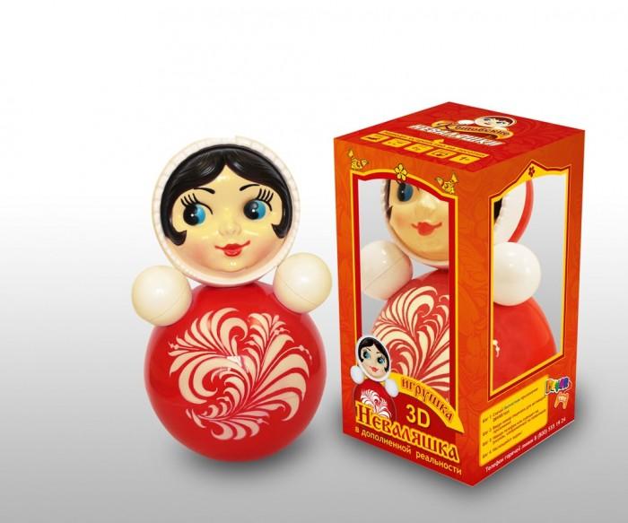 Купить Развивающие игрушки, Развивающая игрушка Russia Неваляшка 3D 25 см