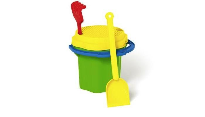 Игрушки для зимы Стеллар Песочный набор № 101 3 обнаженный песочный
