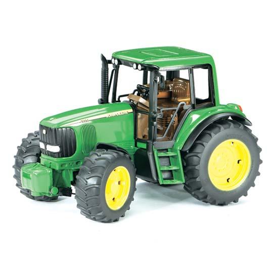 Машины Bruder Трактор John Deere 02-050 tomy трактор john deere 6830