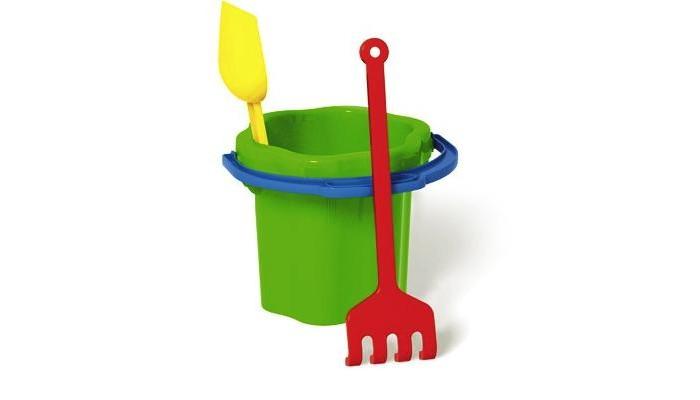 Игрушки для зимы Стеллар Песочный набор № 102 3 обнаженный песочный
