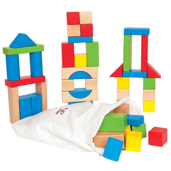 Деревянные игрушки Hape Конструктор Е0409