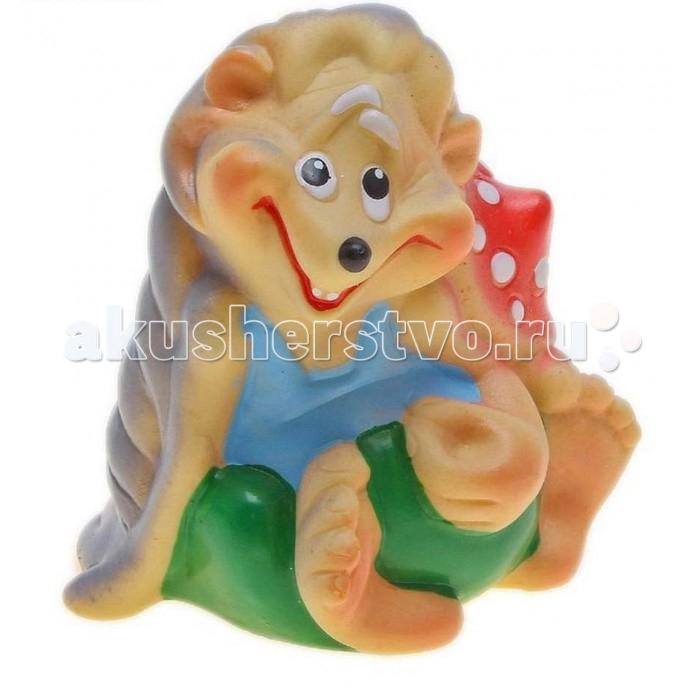 Игрушки для ванны Воронежская игрушка Игрушка для ванны Добрый Еж 10 см игрушки для ванны tolo toys набор ведерок квадратные