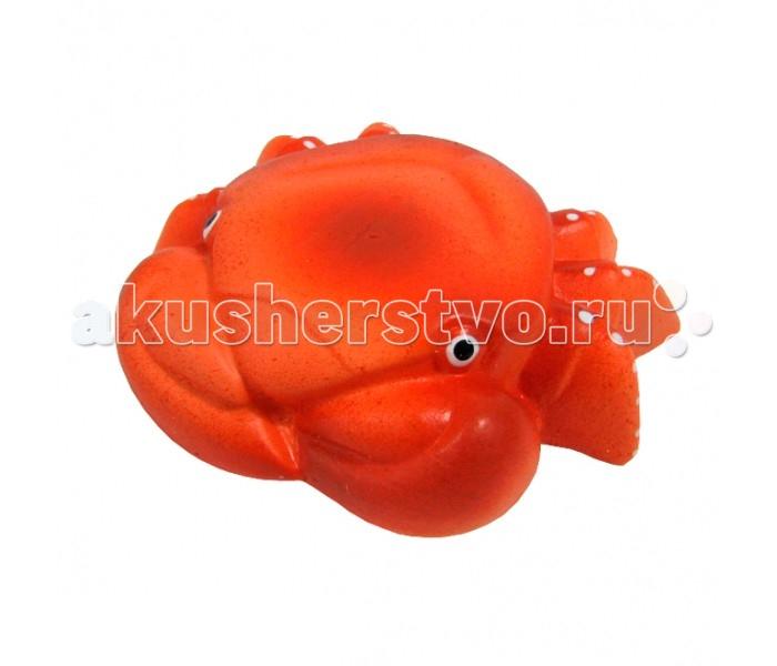 Игрушки для ванны Воронежская игрушка Игрушка для ванны Крабик 10 см