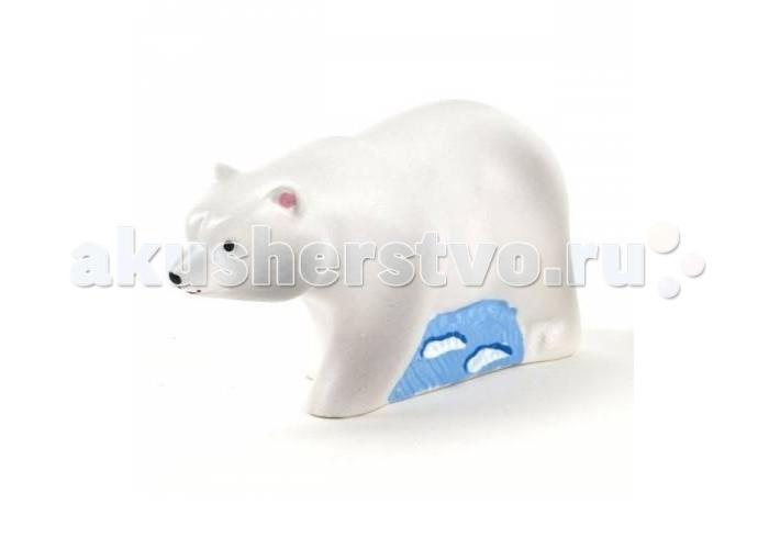 Игрушки для ванны Воронежская игрушка Игрушка для ванны Медведь белый 7 см игрушка