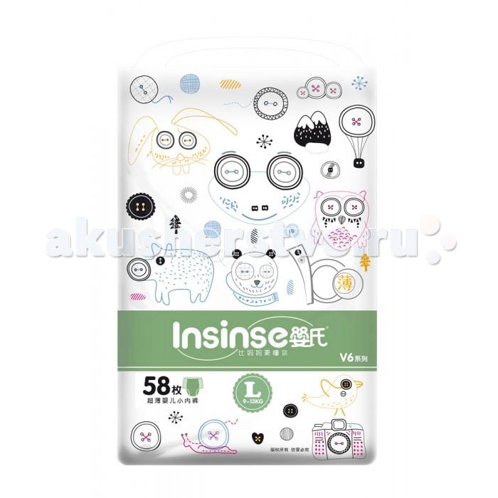 Подгузники Insinse Подгузники трусики L (9-13 кг) 58 шт.