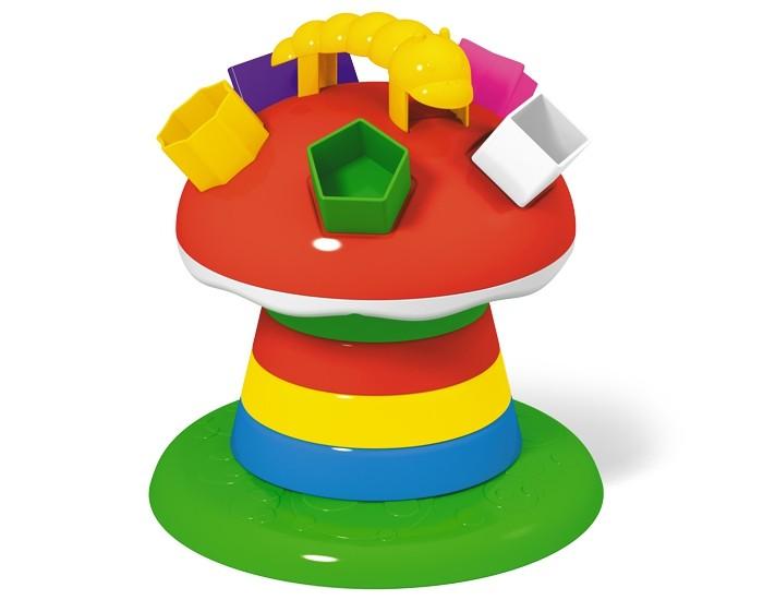 Развивающие игрушки Стеллар Логическая пирамидка Гриб на поляне стеллар погремушка неваляшка гриб стеллар