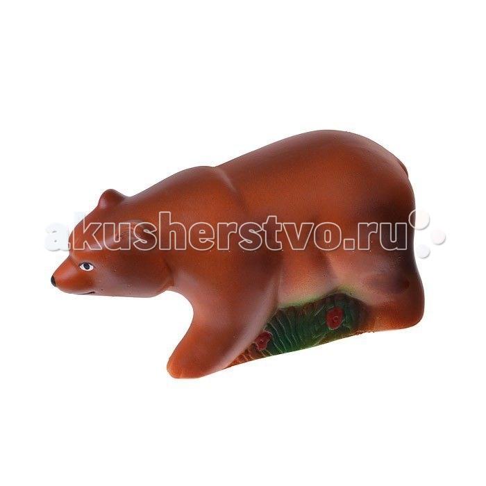 Игрушки для ванны Воронежская игрушка Игрушка для ванны Медведь бурый 7 см игрушка
