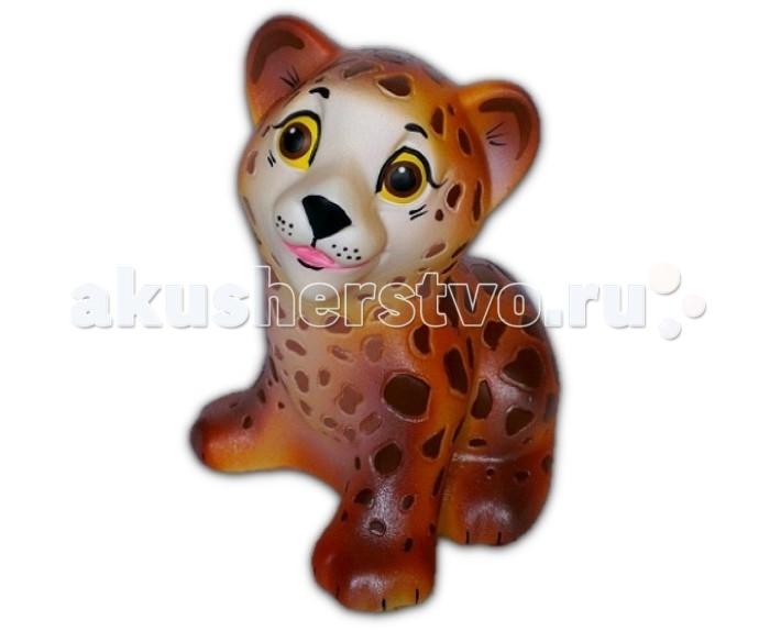 Игрушки для ванны Воронежская игрушка Игрушка для ванны Леопард 12 см игрушка