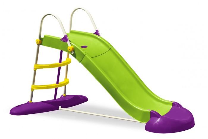 Горка Palplay (Marian Plast) Веселый спускВеселый спускЯркая горка Веселый спуск порадует ваших малышей. Занятия на горке способствуют развитию мышц и координации движений.   Особенности:  — длина ската: 220 см — предназначена для подвижных игр как в помещении, так и на улице — горка оборудована лесенкой для подъема с удобными поручнями — компактна в сложенном виде, что очень удобно для хранения и транспортировки — Материал: высокопрочный пластик  Размеры: 230 x 120 x 140 см Размеры в упаковке: 133 x 58 x 41 см Вес в упаковке: 16 кг  Внимание! Цвета в ассортименте!<br>