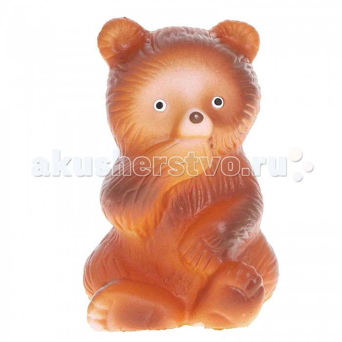 Игрушки для ванны Воронежская игрушка Игрушка для ванны Медведь 10 см игрушка