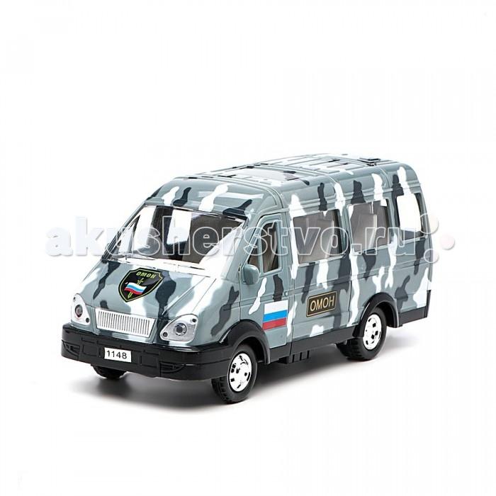 Машины Авто по-русски Машина инерционная Микроавтобус Омон