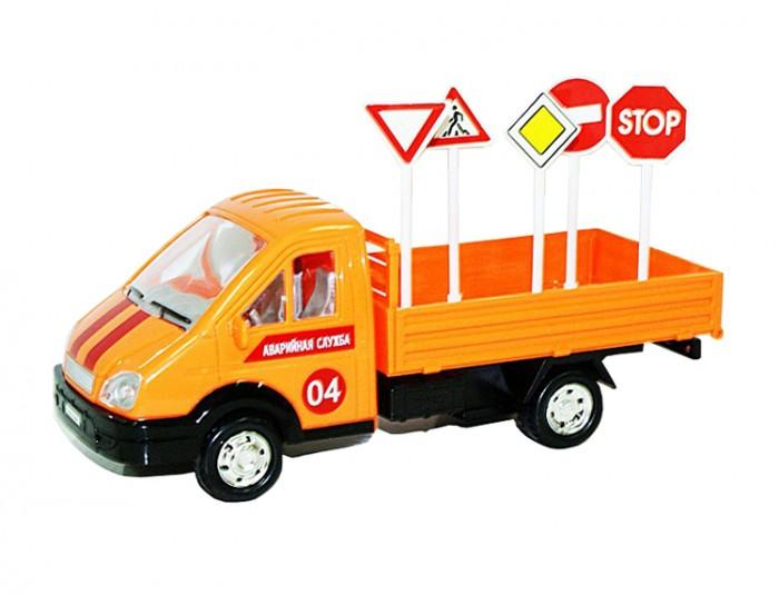 Машины Авто по-русски Машина инерционная Грузовой фургон Аварийная служба с аксессуарами
