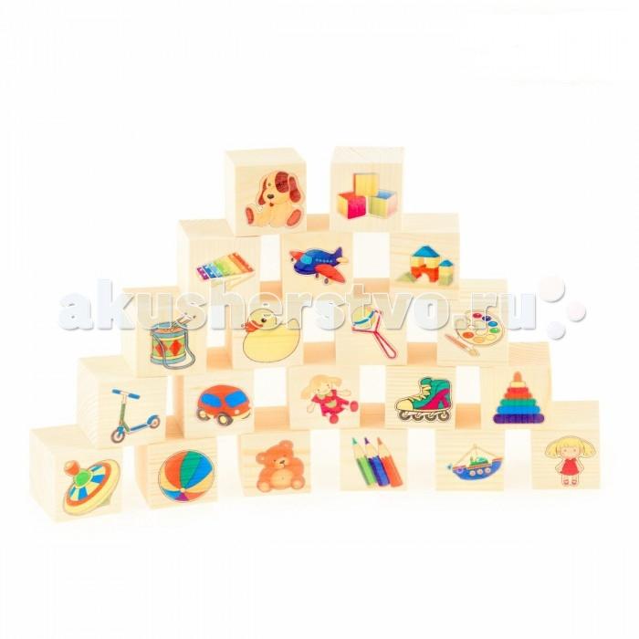 Деревянные игрушки Анданте Набор кубиков Игрушки игрушки