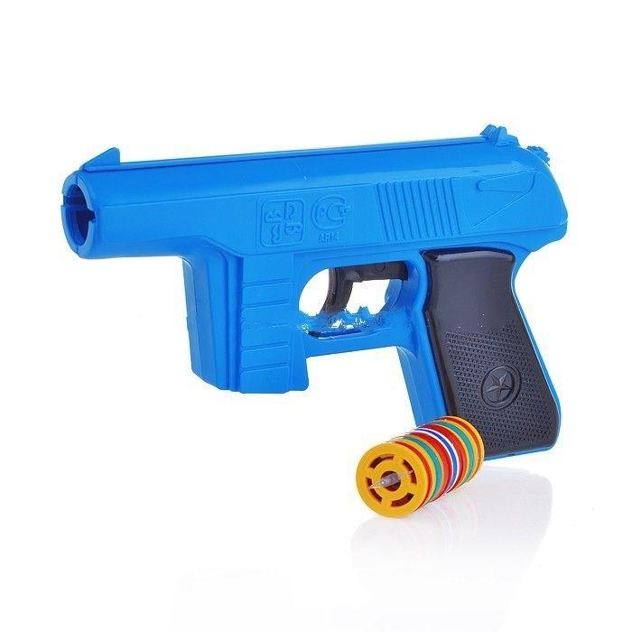 Игрушечное оружие Форма Пистолет игрушечный с дисковыми пулями настенное панно уралкерамика пн93 из 4 х плиток ассоль 49 8х72 8