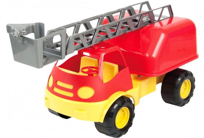 Машины ZebraToys Пожарная машина пламенный мотор машинка инерционная volvo пожарная охрана