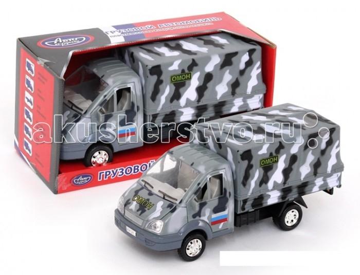 Авто по-русски Машина инерционная Омон со съемным тентом