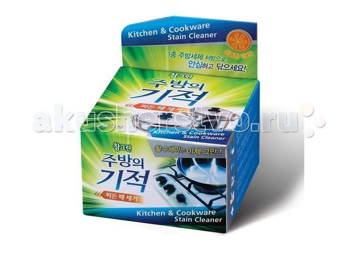 Бытовая химия CJ Lion Чудо-средство Chamgreen чистящая паста для посуды и кухонных поверхностей 285 г cj lion