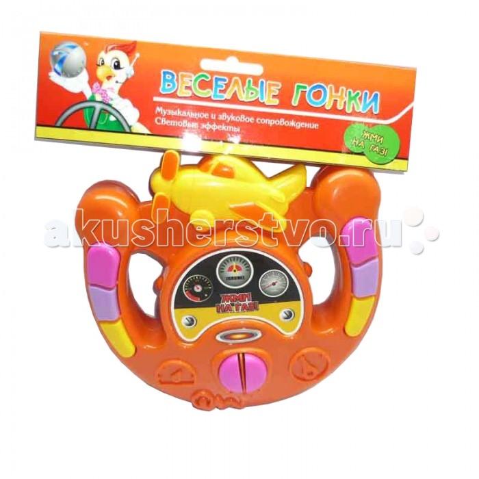 Развивающие игрушки Veld CO Руль музыкальный Веселые гонки звуковые сигналы