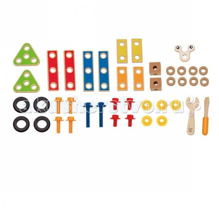 Деревянные игрушки Hape Конструктор Юный строитель Е3080 дачный участок купить в калужской области