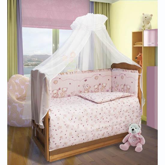 Фото - Постельное белье Soni Kids Солнечные мишки (3 предмета) комплекты в кроватку soni kids солнечные мишки 7 предметов