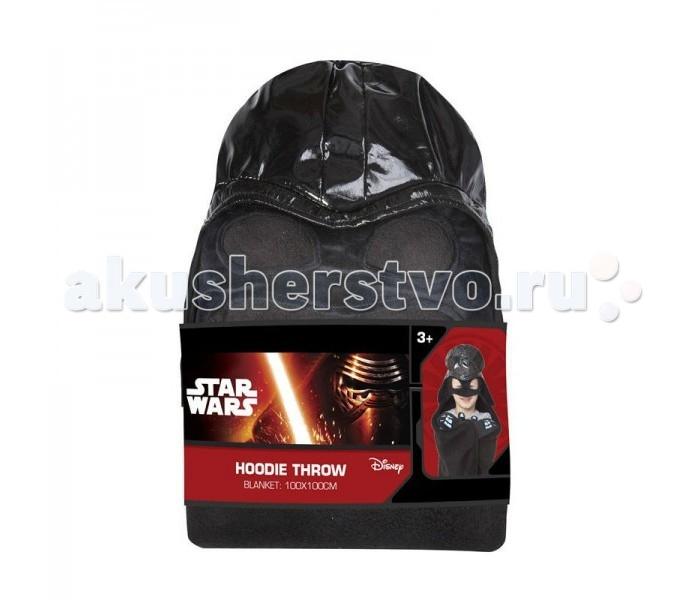 Плед Rubie's с капюшоном Звёздные Войны Darth Vader размер 100 х 100 см