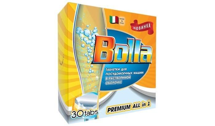 Бытовая химия Bolla Таблетки для посудомоечной машины 30 шт. средства для посудомоечных машин bolla таблетки для посудомоечной машины bolla 60шт 7в1