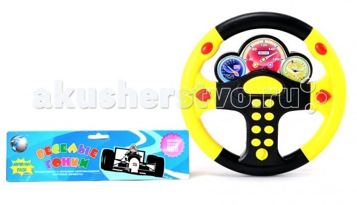 Развивающие игрушки Veld CO Руль музыкальный с русской озвучкой мягкие игрушки veld co веселая зверюшка