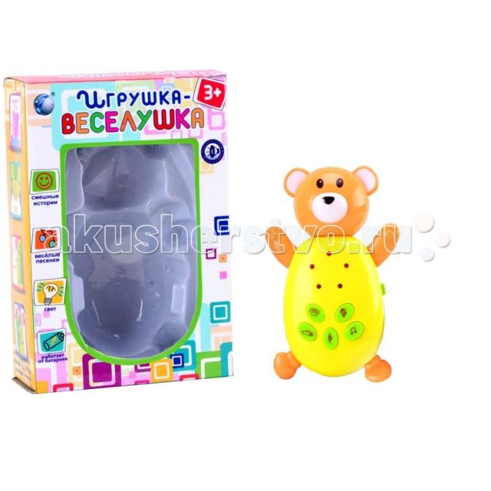 Развивающие игрушки Veld CO Медвежонок со светом и звуком фигурки игрушки veld co игра развивающая пингвин