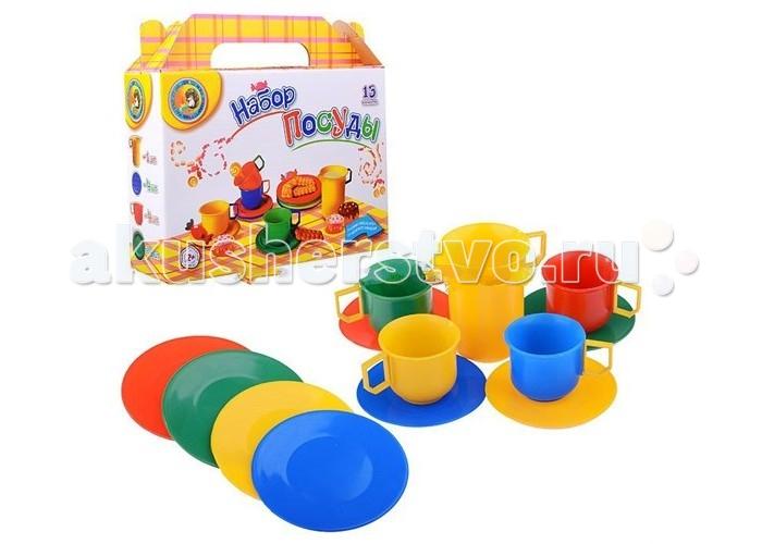 Ролевые игры СВСД Набор посуды 13 предметов набор посуды мика стандарт 8 предметов мк300