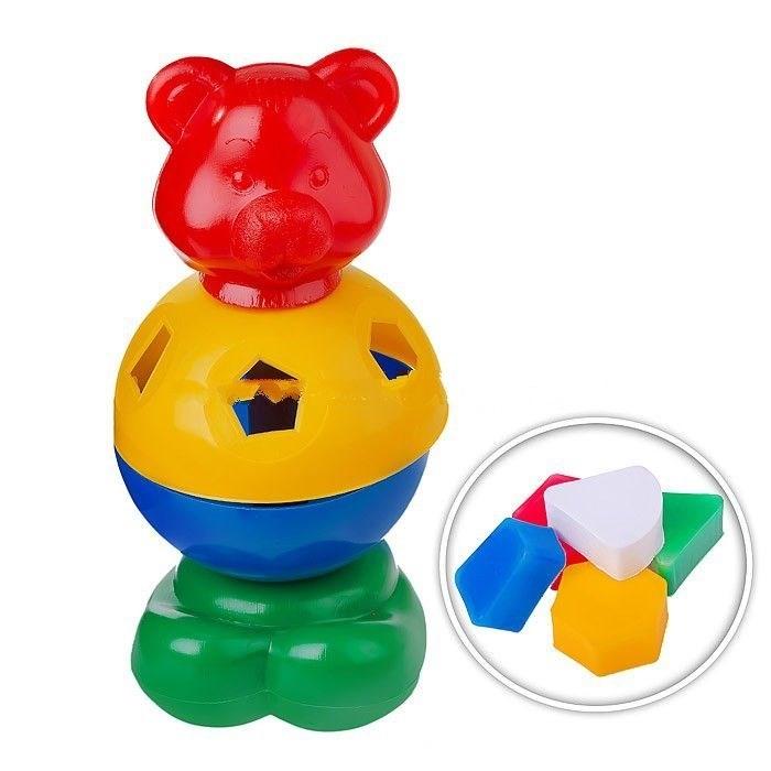 Развивающие игрушки СВСД Игрушка-логика Мишка косолапый развивающие игрушки tolo toys белый мишка