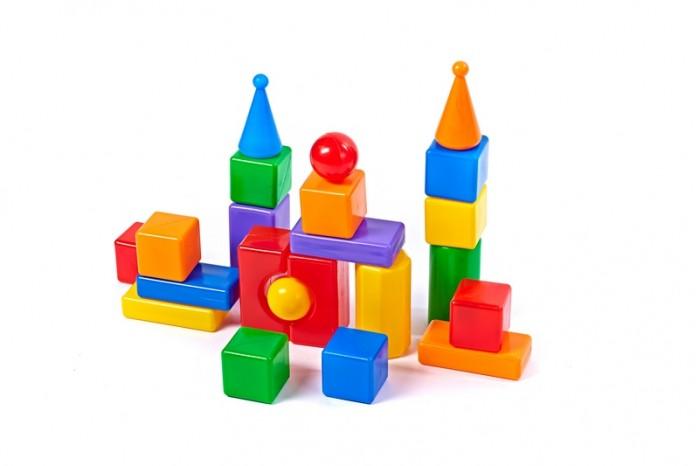 Купить Развивающие игрушки, Развивающая игрушка СВСД Строительный набор Стена-2 22 элемента