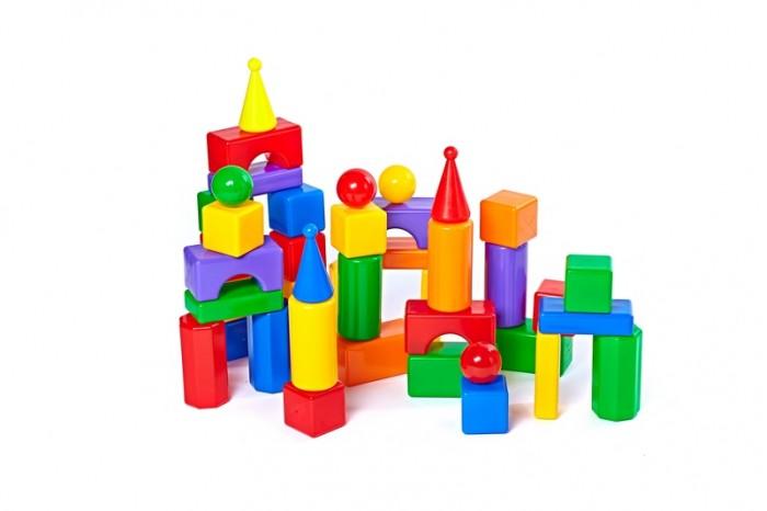 Развивающая игрушка СВСД Строительный набор Стена-2 43 элемента