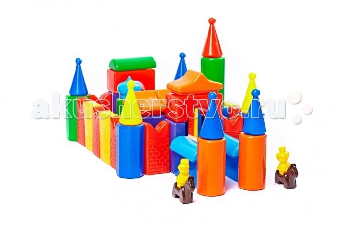 Развивающие игрушки СВСД Строительный набор Кремль-2 55 элементов appolia
