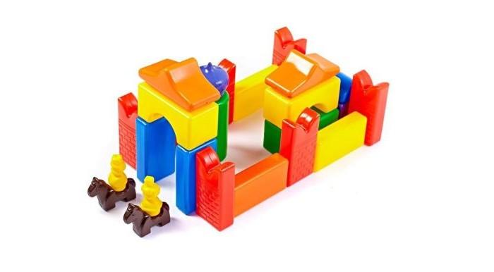 Развивающие игрушки СВСД Строительный набор Скит-2 26 элементов чехол для рукава гладильной доски leifheit цвет голубой 52 х 12 см