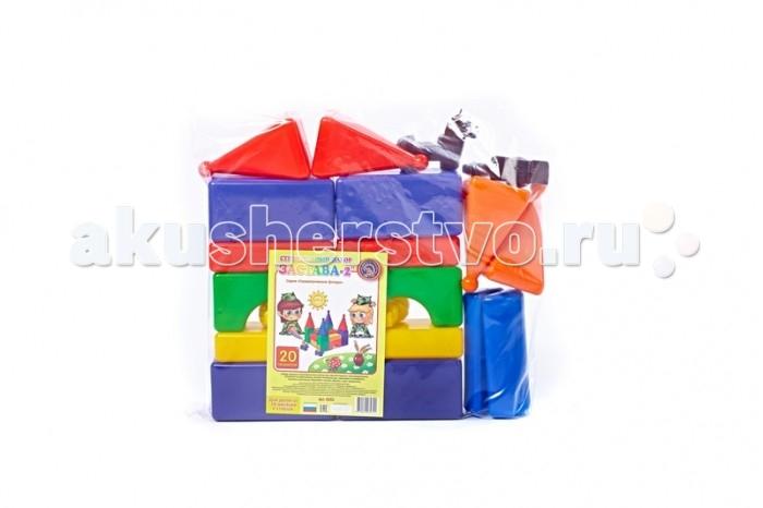 Развивающие игрушки СВСД Строительный набор Застава-2 20 элементов