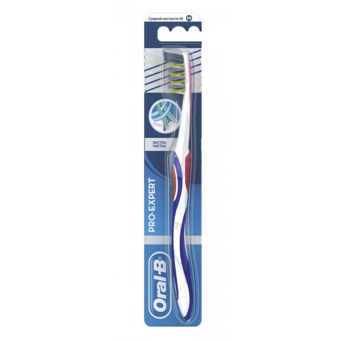 Гигиена полости рта Oral-B Expert Экстра-чистка 40 Зубная щетка средняя гигиена полости рта r o c s модельная зубная щетка средняя