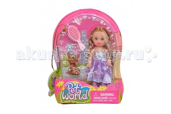 Куклы и одежда для кукол Defa Кукла Малышка с собачкой кукла defa lucy принцесса 8182