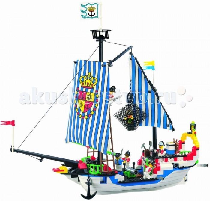 Конструкторы Enlighten Brick № 305 Пиратский корабль 310 деталей конструктор enlighten brick каток c1104 1104