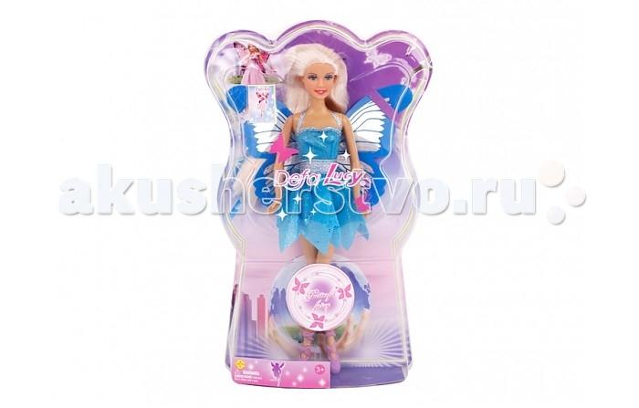 Куклы и одежда для кукол Defa Кукла Бабочка куклы и одежда для кукол defa lucy набор кукол с беременной мамой и аксессуарами