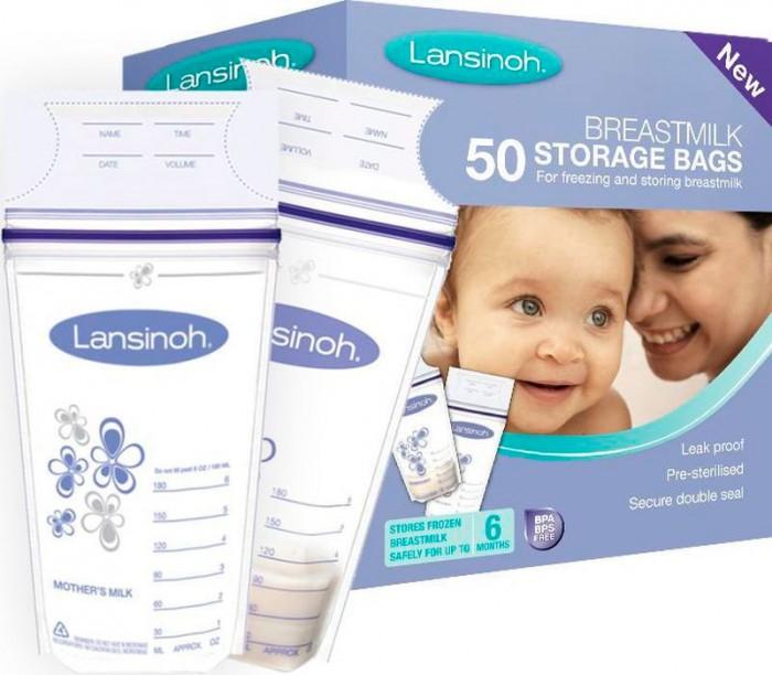 Lansinoh Пакеты для заморозки молока 50 шт. от Lansinoh